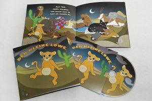 Der Kleine Löwe - Schlaflied der Tiere. Als Buch mit CD.